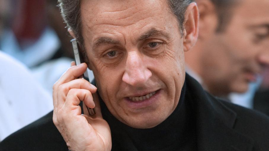 Nicolas Sarkozy lors de la campagne présidentielle en 2012.