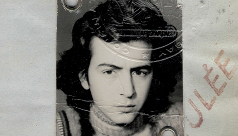 Photo du passeport de Bernard-Henri Lévy, 1971