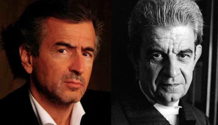 Bernard-Henri Lévy et Jacques Lacan