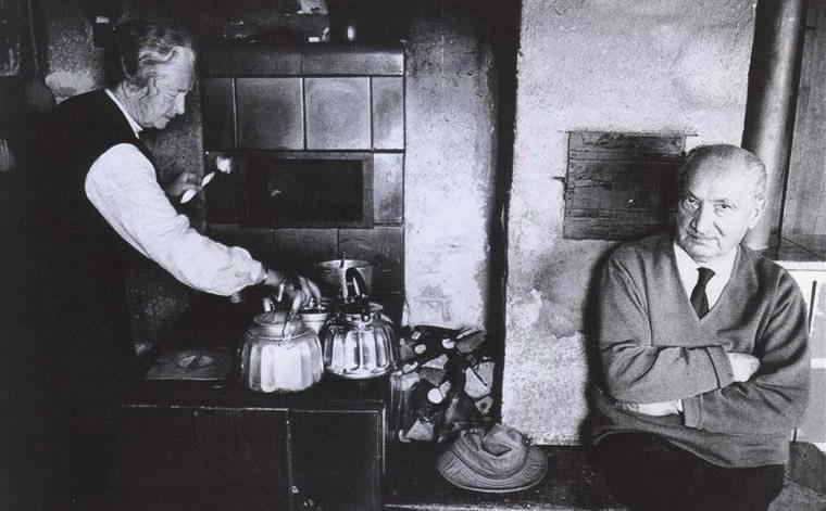 Heidegger-chez-lui