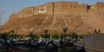 La citadelle d'Hawler, à Erbil, au Kurdistan irakien.