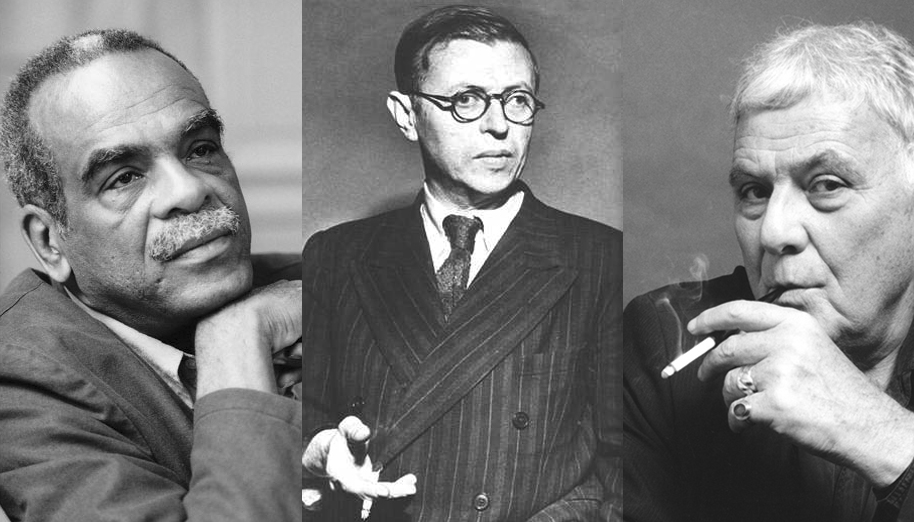 Edouard Glissant, Jean-Paul Sartre, Philippe Sollers