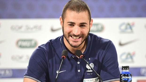 Karim Benzema en conférence de presse