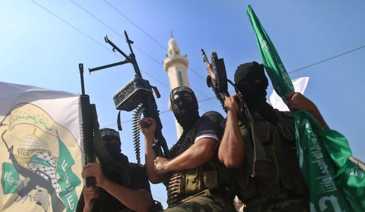 Des soldats du Hamas à Gaza.