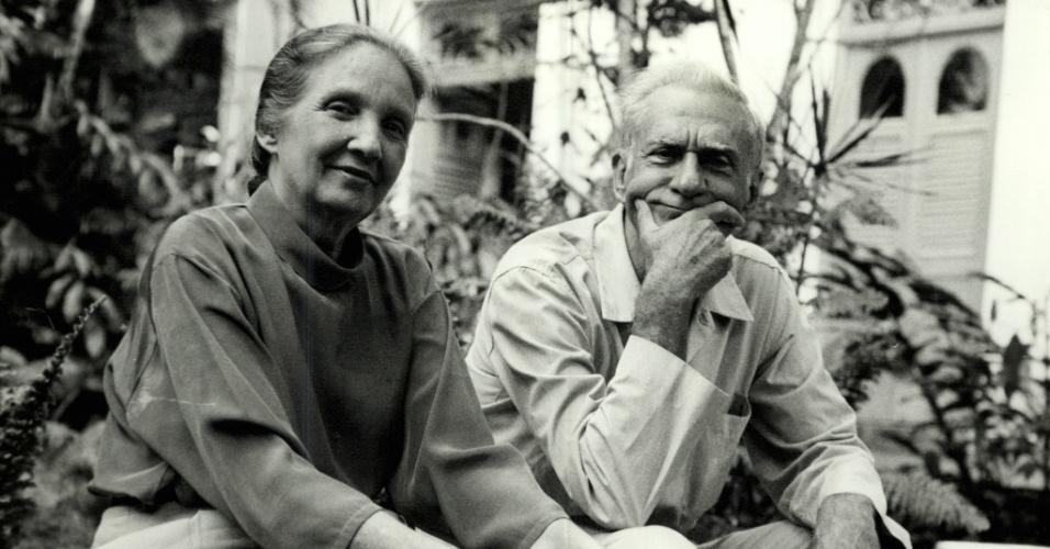 Ariano Suassuna et sa femme Zélia de Andrade Lima