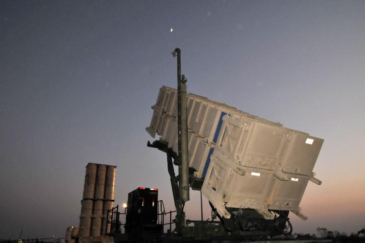 Système antimissile en Israël