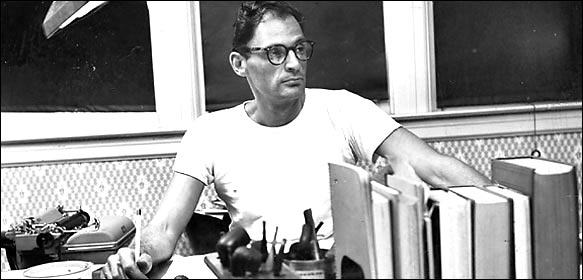 Arthur Miller en 1956. Photo : The New York Times