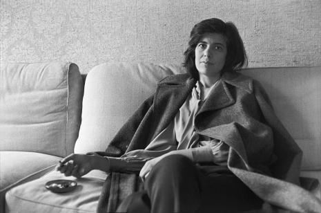 Susan Sontag à Paris en 1972, par Annie Leibovitz.