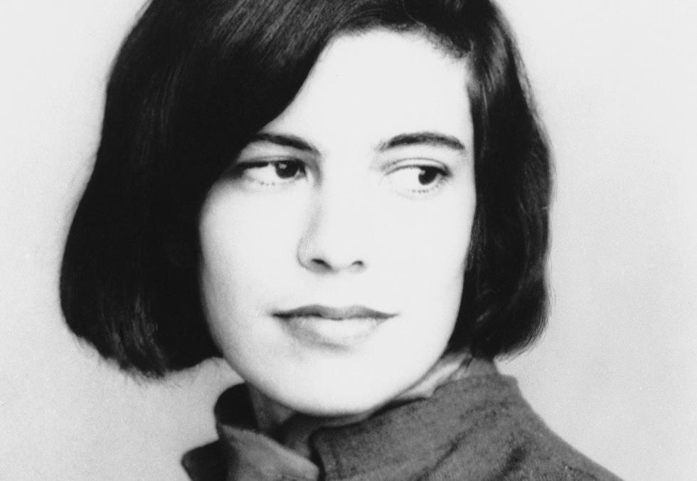 Susan Sontag dans sa jeunesse.