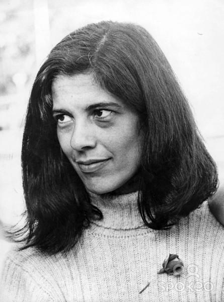 Susan Sontag en 1970.