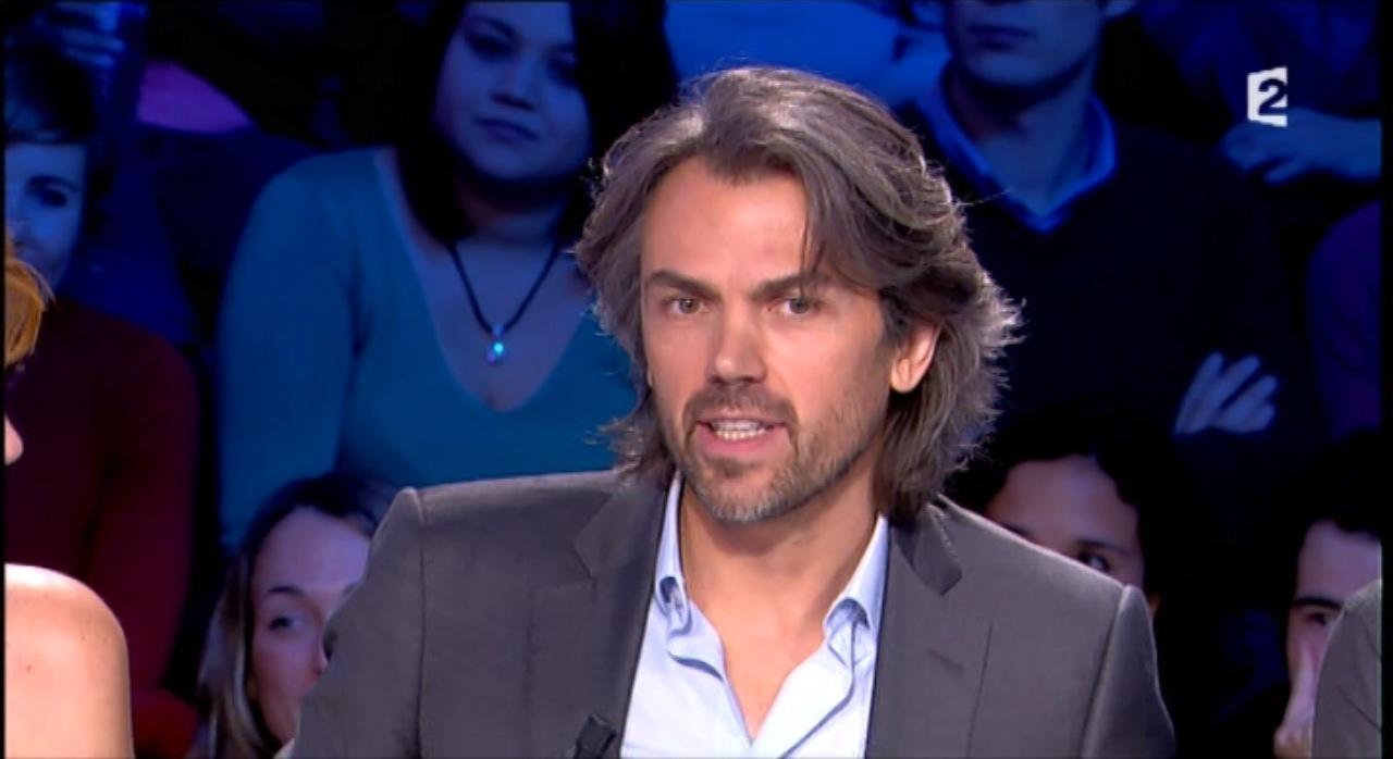 """Aymeric Caron, le chroniqueur de l'émission """"On n'est pas couché""""."""