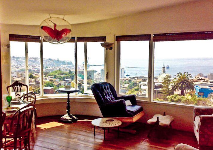 Vue sur Valparaiso depuis La Sebastiana