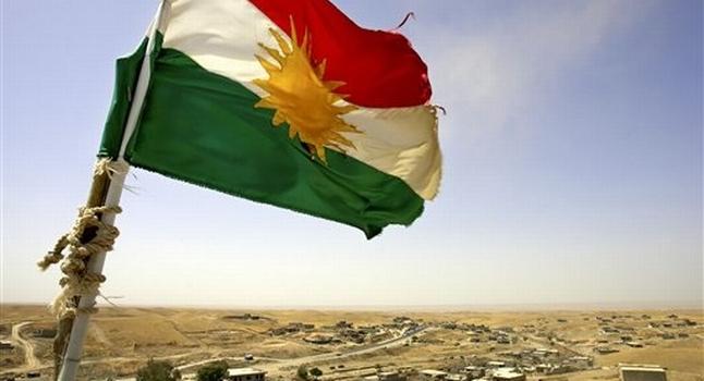 Le drapeau du Kurdistan