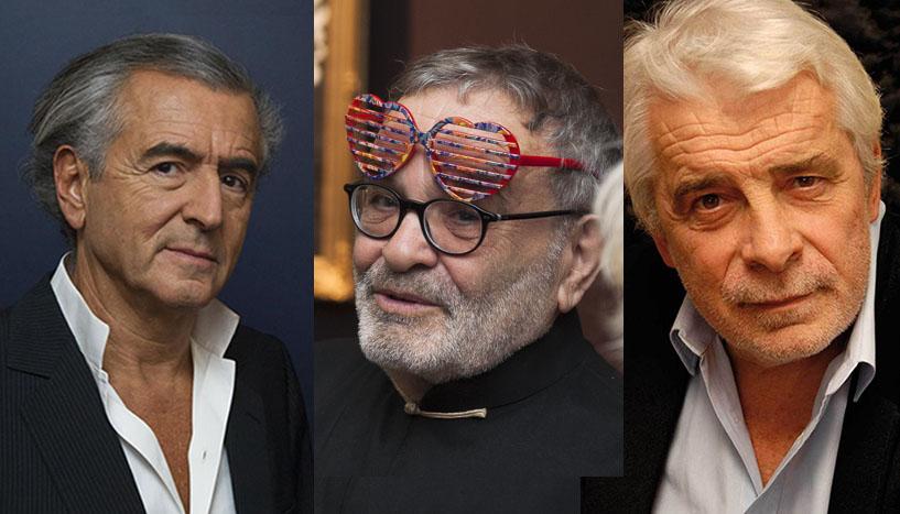 Bernard-Henri Lévy, Fernando Arrabal, Jacques Weber