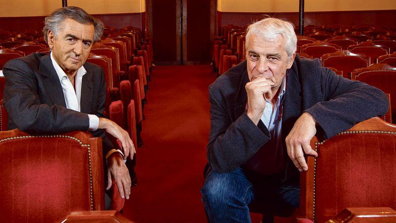 Bernard-Henri Lévy et Jacques Weber - Photo François Bouchon