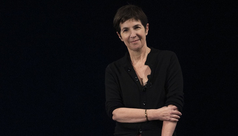Christine Angot / Photo : Yann Revol