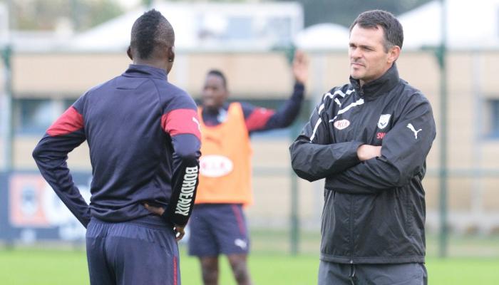 L'entraîneur des Girondins de Bordeaux Willy Sagnol / © AFP