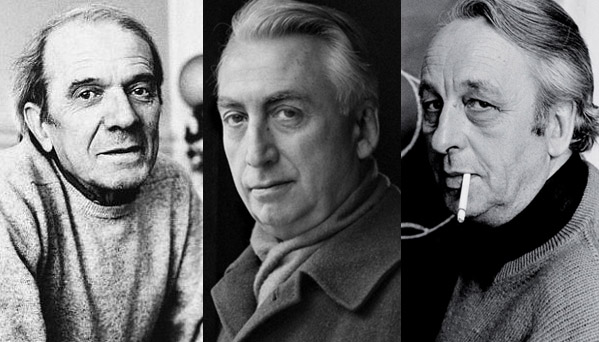 Gilles Deleuze, Roland Barthes, Louis Althusser