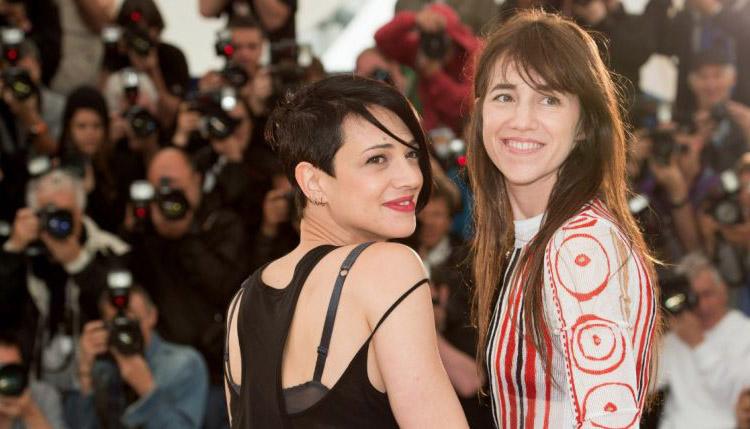 Asia Argento, réalisatrice de L'incomprise, et Charlotte Gainsbourg, qui interprète le rôle de la mère.