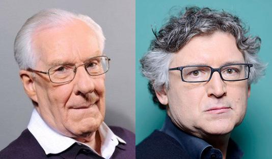 Alain Badiou et Michel Onfray