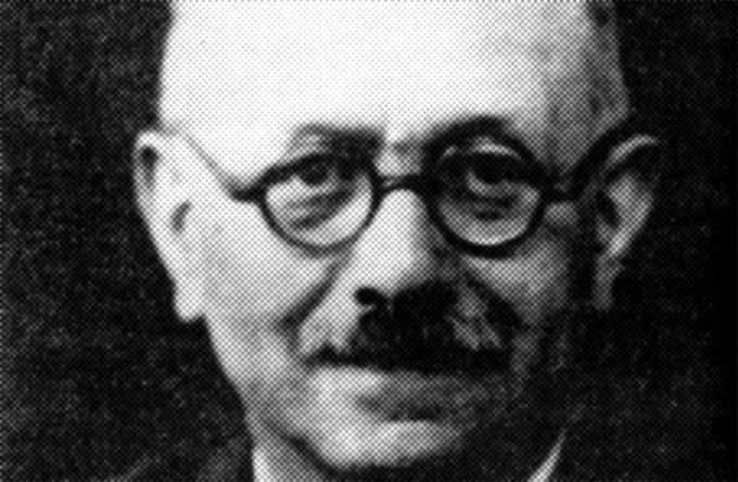 """Marc Bloch, l'auteur de """"L'Etrange défaite""""."""