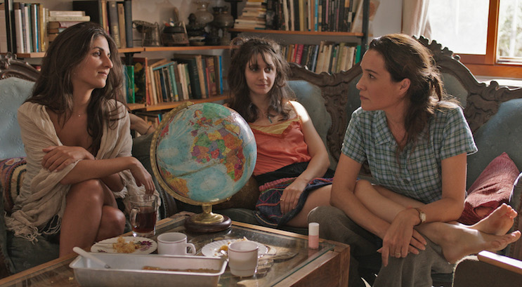 """Géraldine Nakache, Judith Chemla et Yaël Abecassis, dans """"Rendez-vous à Atlit"""", de Shirel Amitai."""