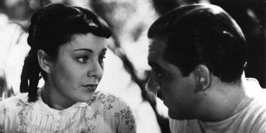 """Sylvia Bataille et Georges Darnoux dans """"Partie de campagne"""", de Jean Renoir"""
