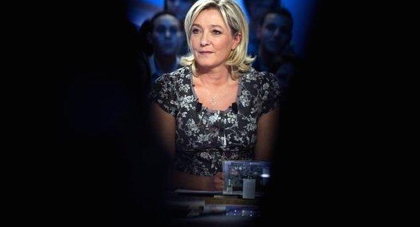 Marine Le Pen à la télévision