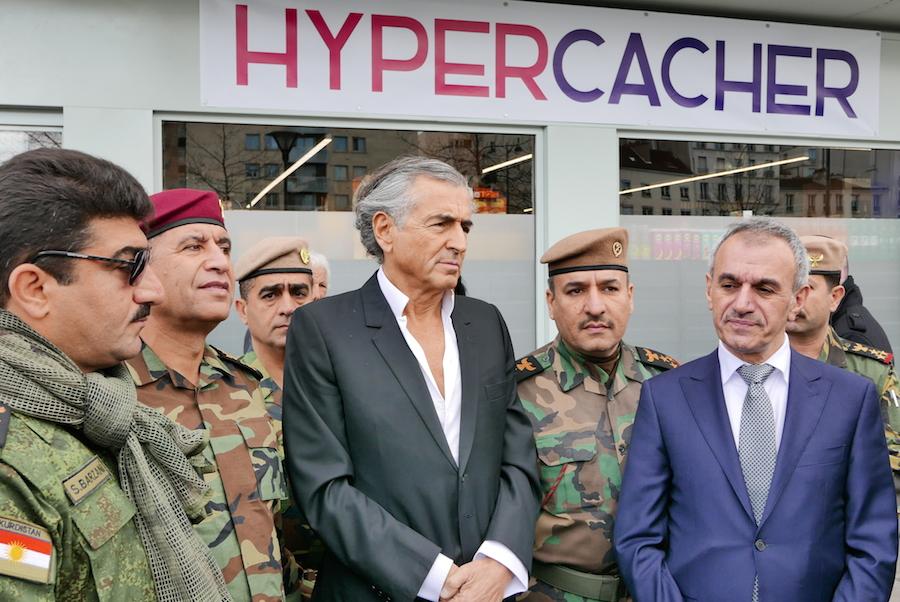 Peshmergas-Charlie-Hebdo-Bernard-Henri-Levy