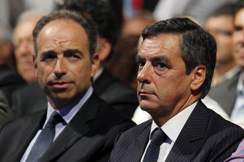 François Fillon, Premier Ministre, ici aux côtés de Jean-François Copé, secrétaire général de l'UMP, lors de l'Université d'été de l'UMP, à Marseille.