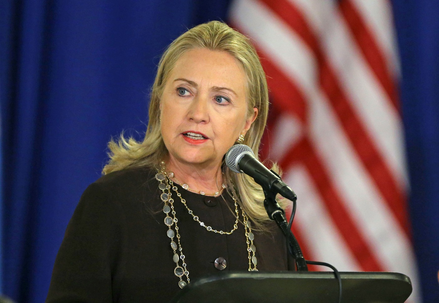 Portrait de Hillary Clinton en 2012