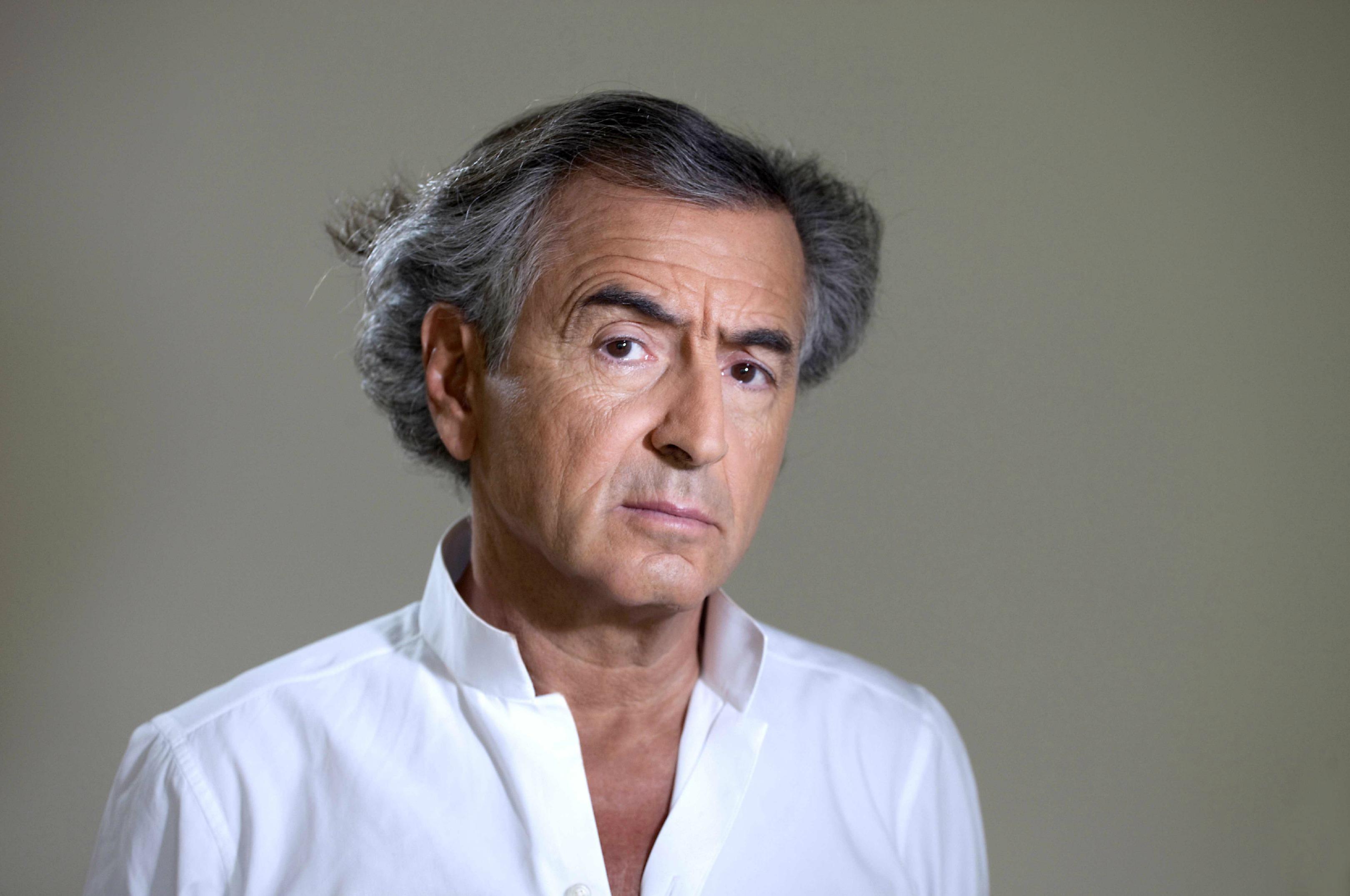 Bernard-Henri Lévy. Photo : Alexis Duclos
