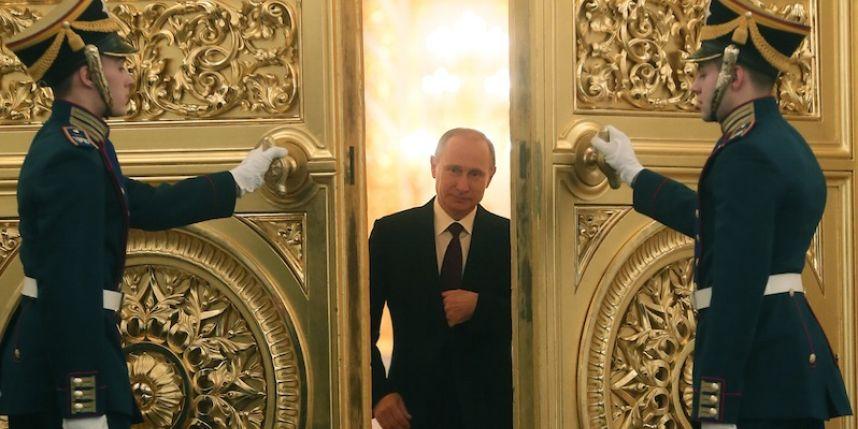 Vladimir Poutine au Kremlin.