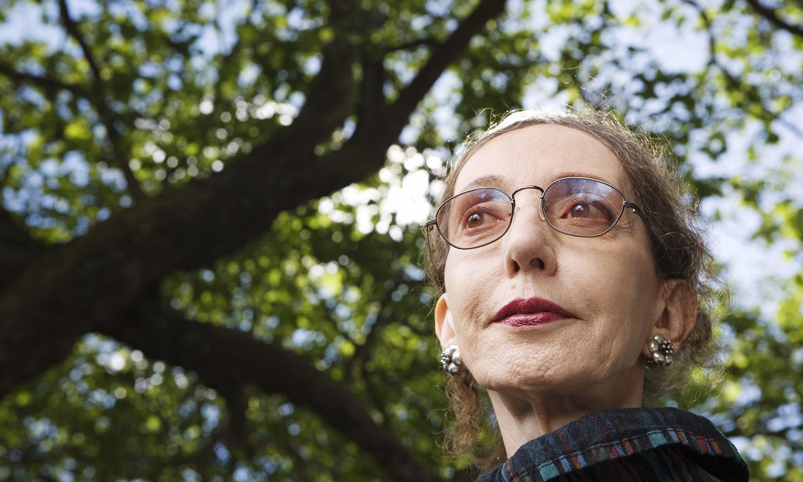 Portrait de l'écrivaine américaine Joyce Carol Oates