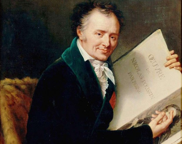 """Le Baron Dominique Vivant Denon, auteur de la nouvelle """"Point de lendemain"""", peint par Robert Lefèvre, 1808. Musée national du Château de Versailles."""