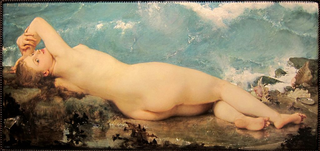 Paul Baudry, La Vague et la Perle, 1862, Madrid, Museo del Prado