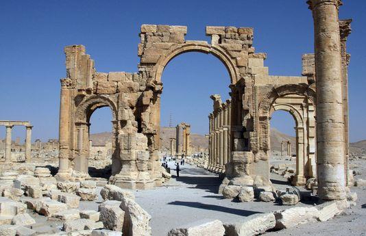 L'arc de Palmyre a été détruit par Daech.