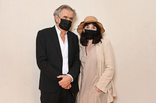 Portraits de Bernard-Henri Lévy et Isabelle Adjani
