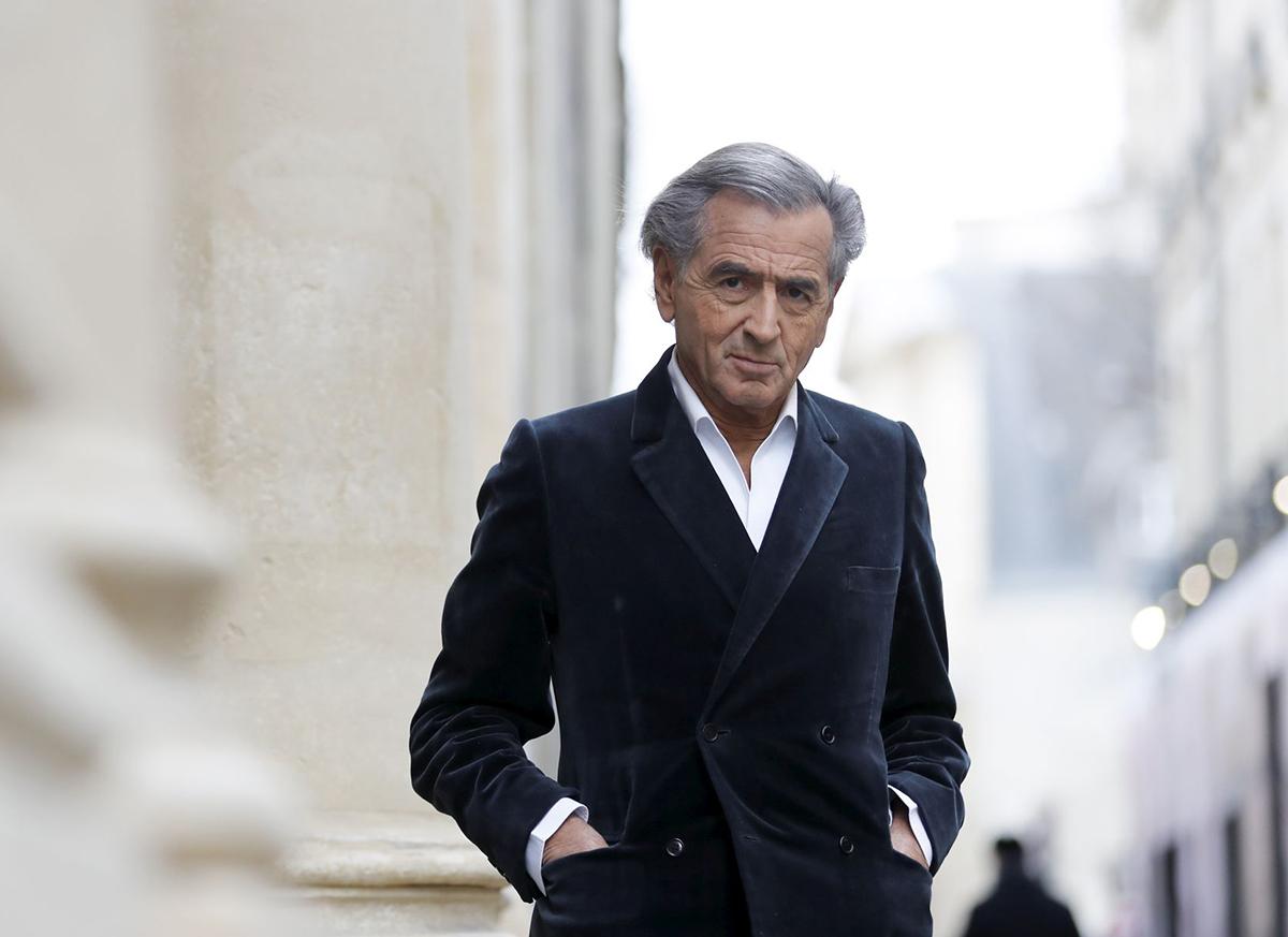 Bernard-Henri Lévy, à Paris, le 21/03/2018. Photo : Jean-Christophe Marmara / Le Figaro.