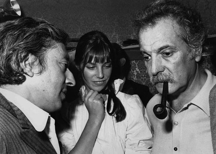 France, Paris : Georges Brassens