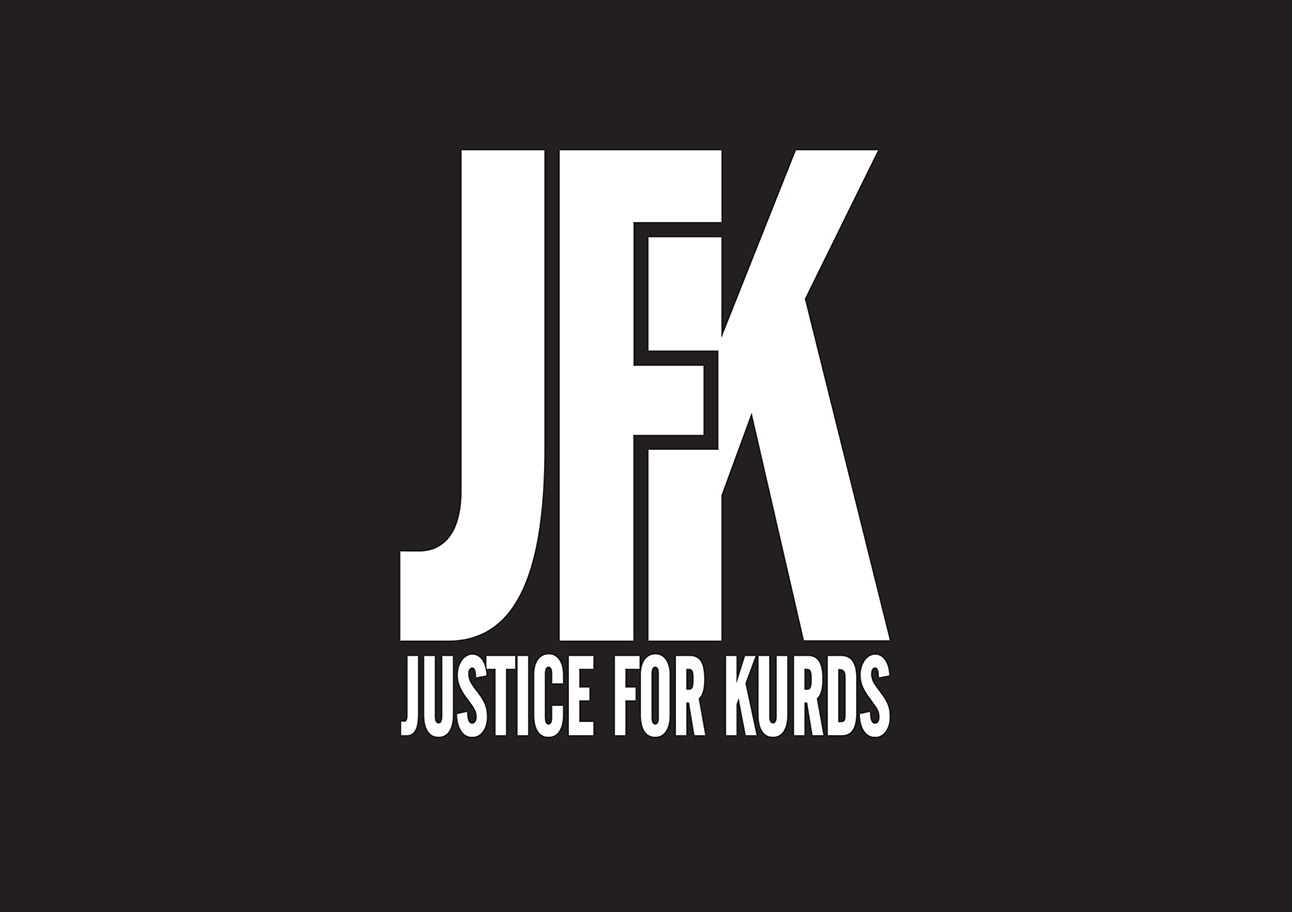 Logo de Justice For Kurds.