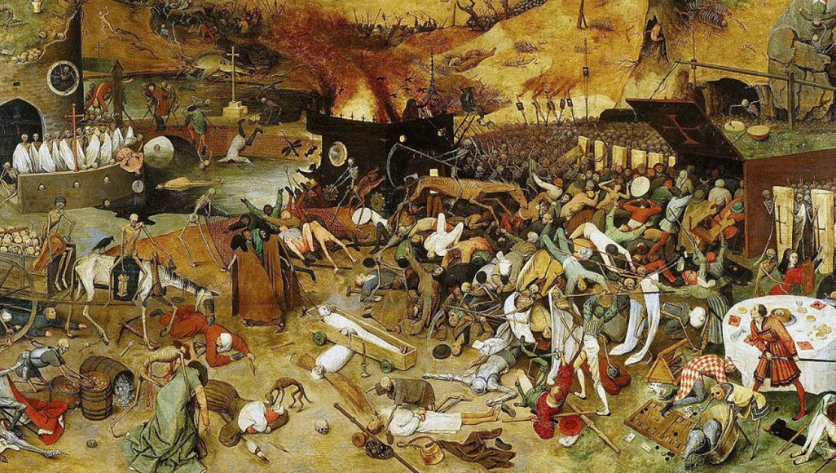 Le tableau «Le Triomphe de la Mort» du peintre Pieter Brueghel l'Ancien.