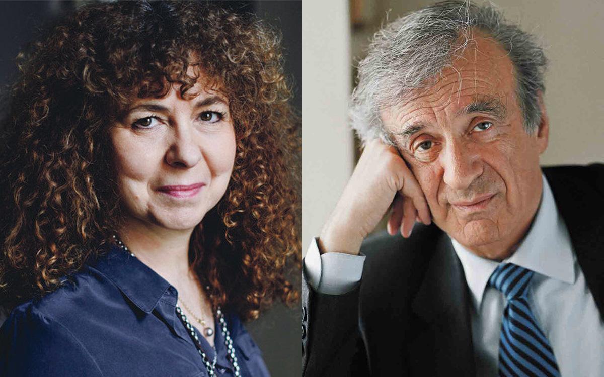 Valérie Toranian et Elie Wiesel.
