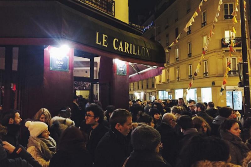 La réouverture du Carillon, le 13 janvier 2016.