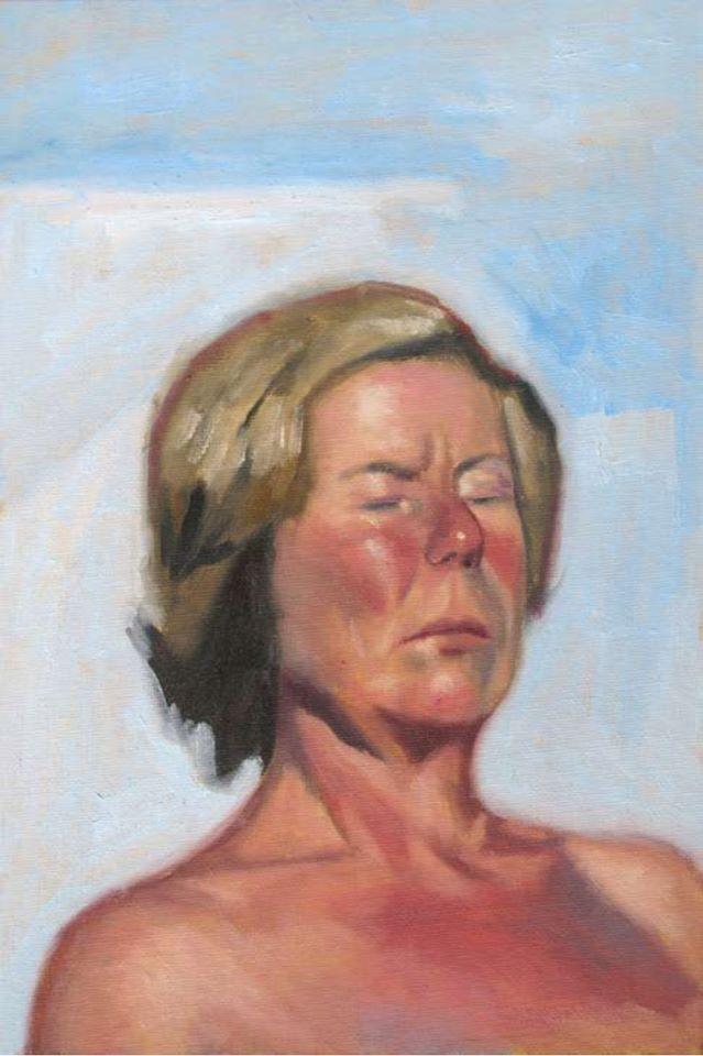 Malingrey-Portrait-de-la-femme-aux-yeux-clos-2015