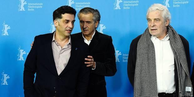 Danis Tanovic, Bernard-Henri Lévy et Jacques Weber au festival du film de Berlin.