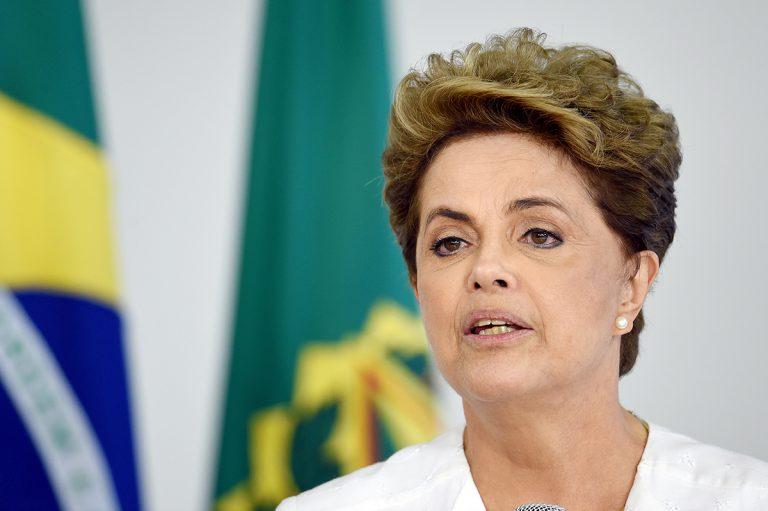 La présidente brésilienne, Dilma Roussef.