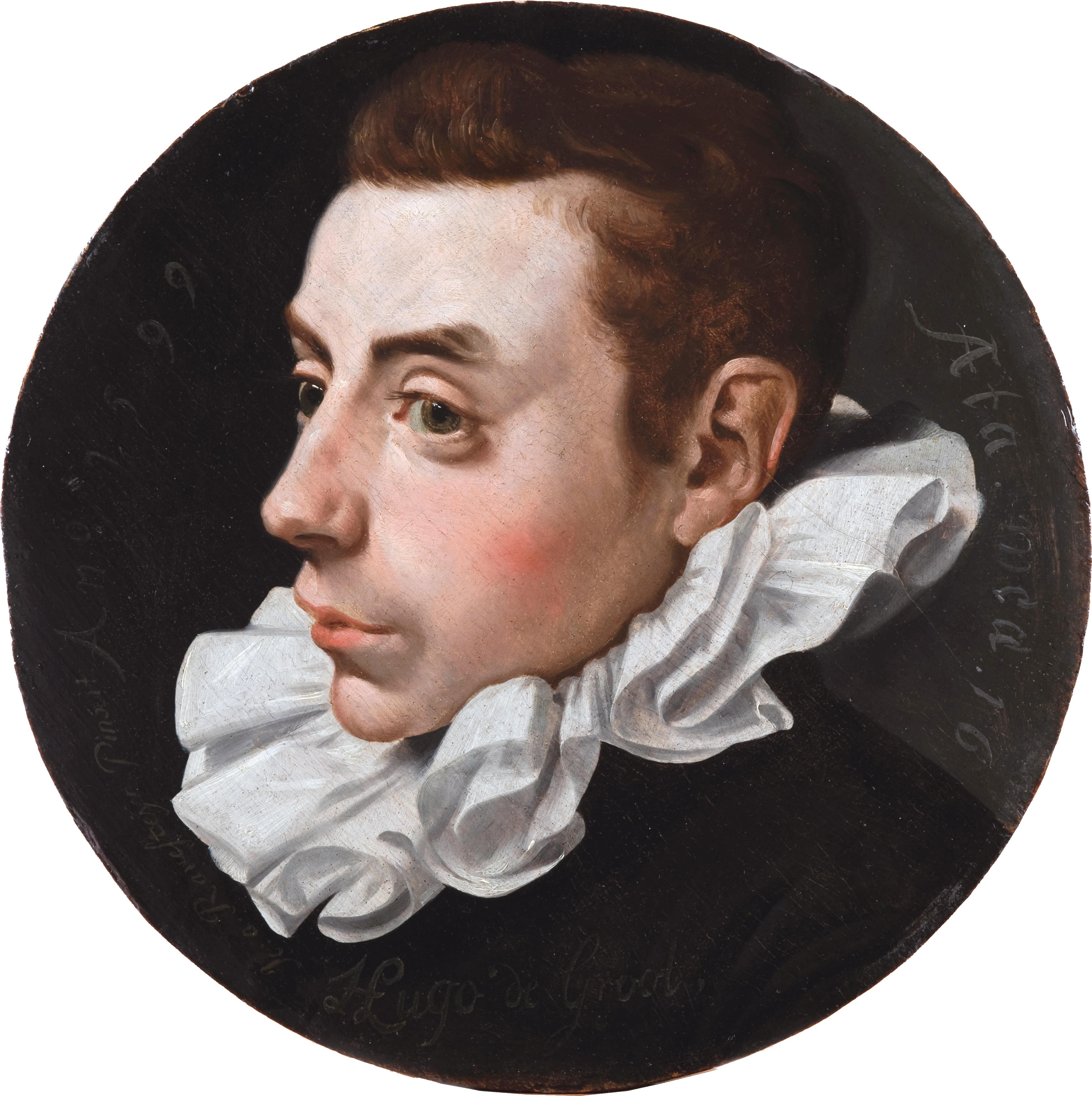 Hugo Grotius at the age of sixteen, by Jan Antonisz. van Ravesteyn