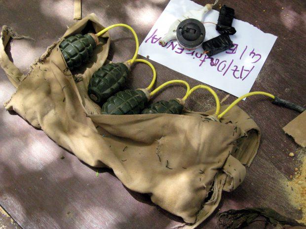 Une ceinture d'explosifs retrouvée suite au double attentat suicide perpétré par des djihadistes au Niger, en mai 2013, contre l'armée nigerienne et le groupe industriel français Areva.