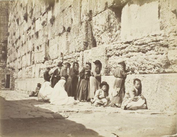 Mur des Lamentations, Jérusalem, Palestine, à la fin 19e siècle.